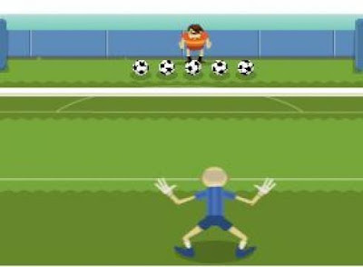 Play the Olympics SOCCER-2012 Google Doodle Game Here