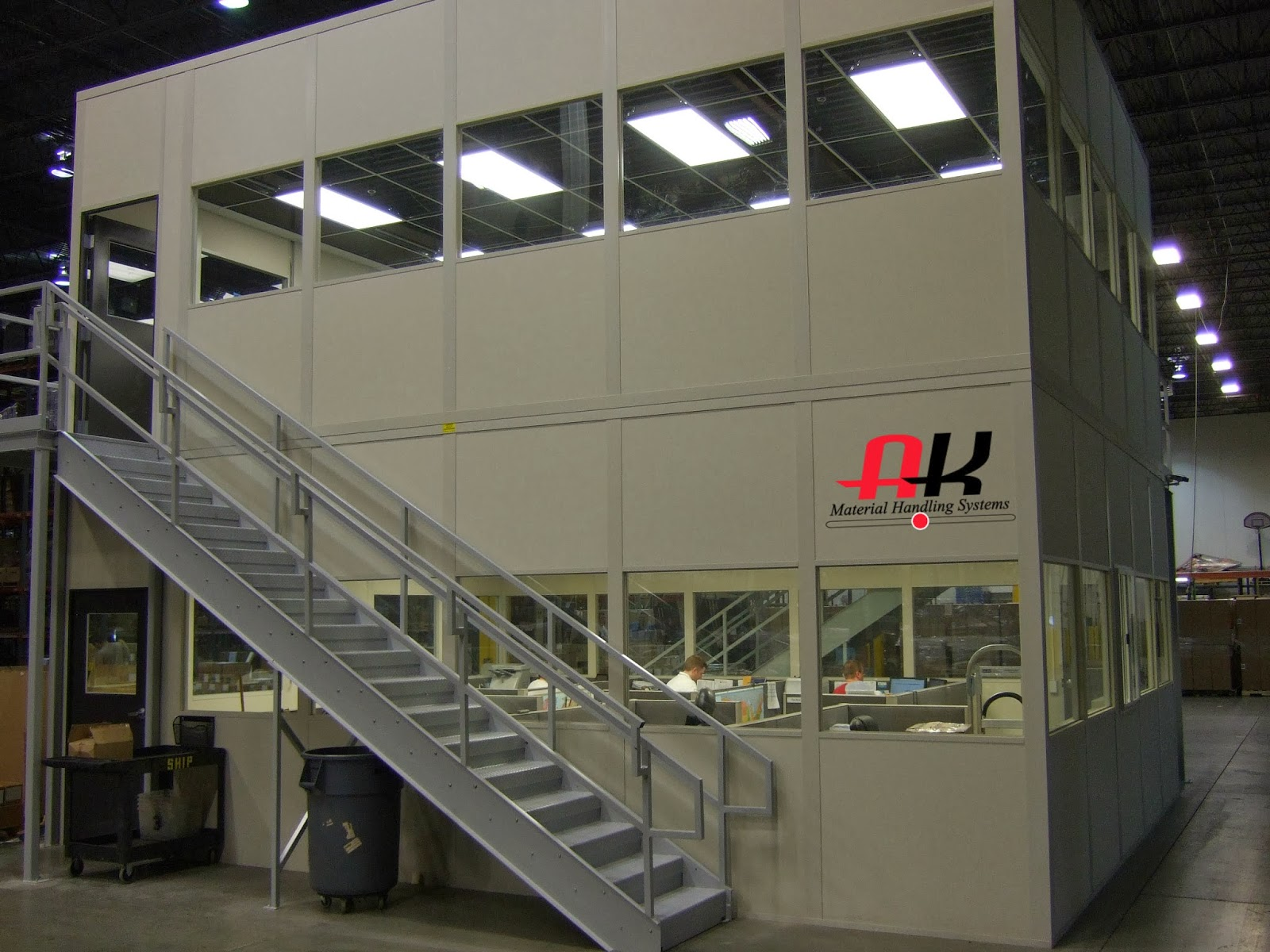 Beau Create A Modular Office Just About Anywhere U2013 AK Material Handling Systems