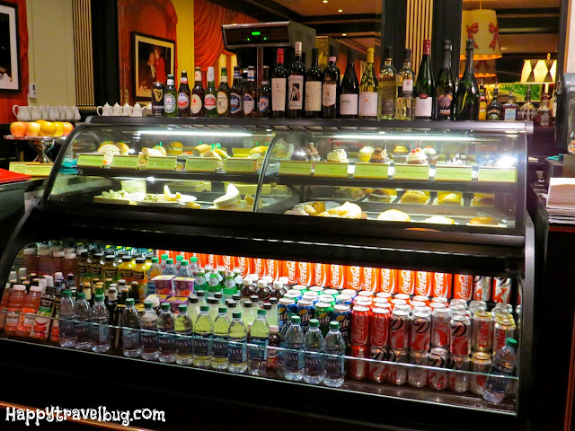 food counter at cafe carleton in the greenbrier