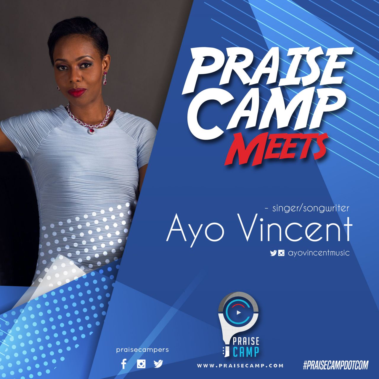#PraiseCampMeets Ayo Vincent