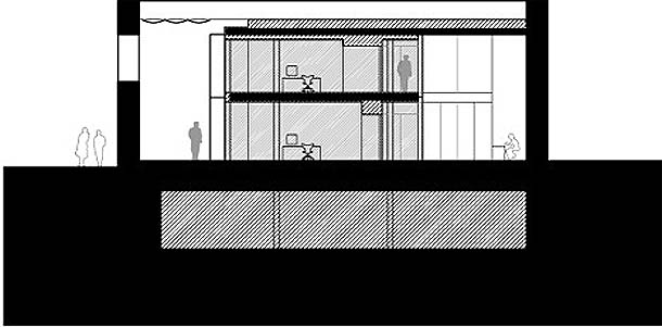 escritórios da Junta de Castilla y León - arquitectura de Alberto Campo Baeza