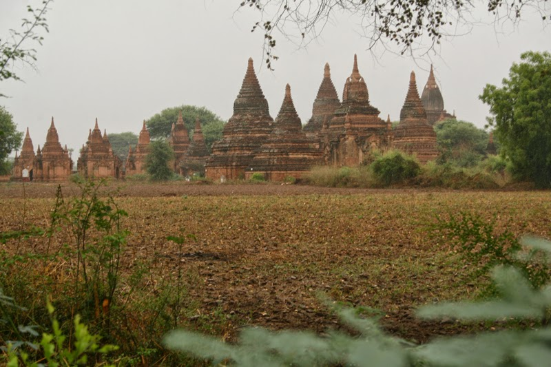The North plains of Bagan
