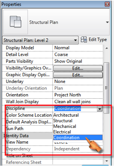 transparency how to change revit