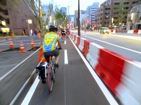 Bicycle Lane Outbreak in Tokyo