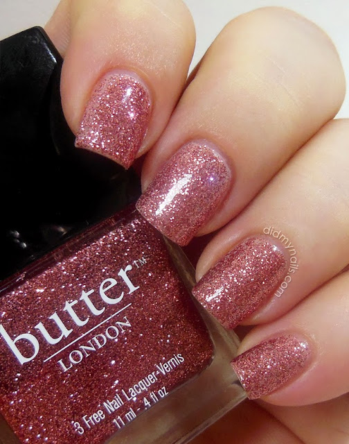 butter london rosie lee swatch