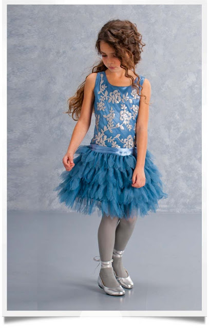 Biscotti Filigree Flutter Dress | Chichi Mary Blog