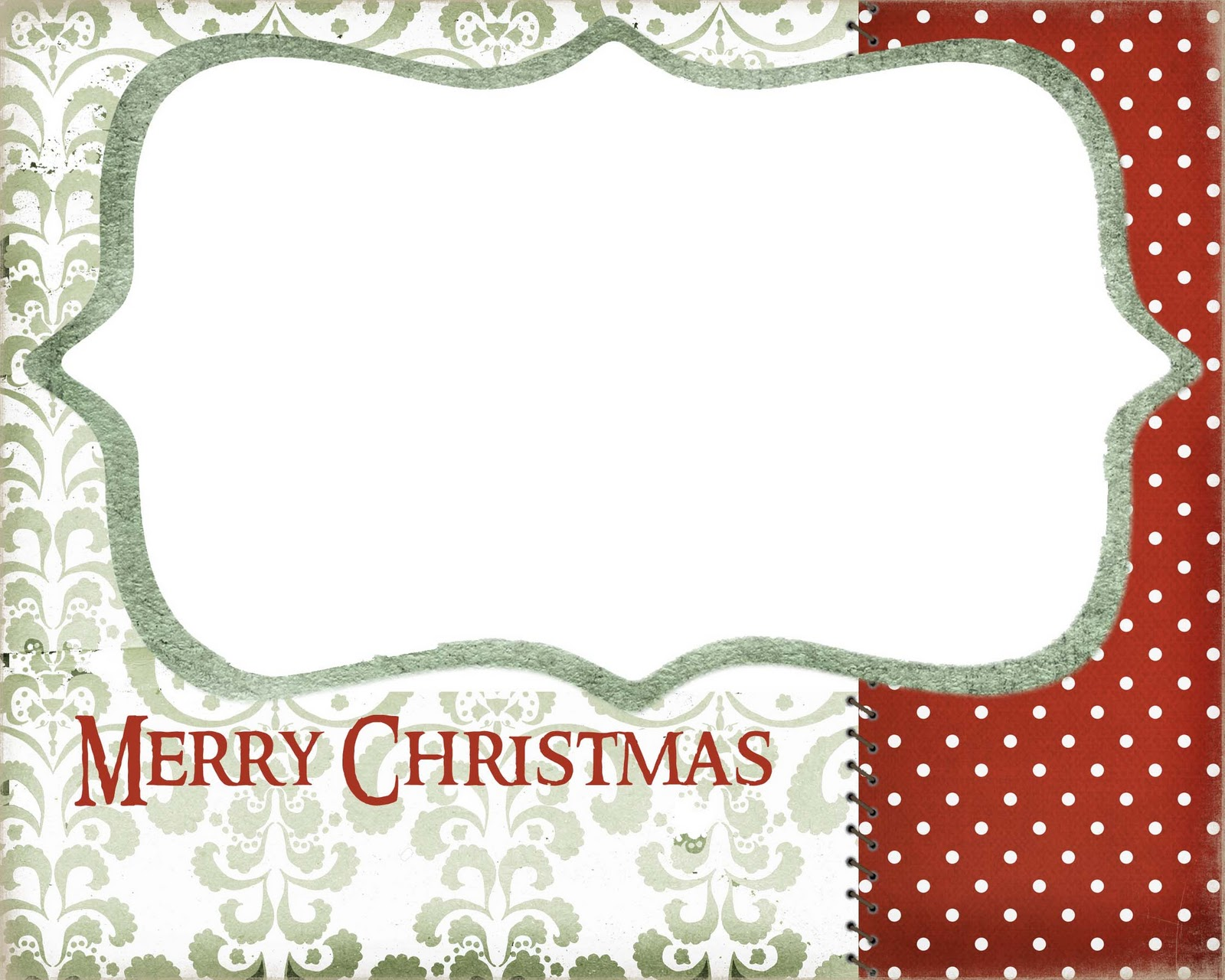 Luscious image with free printable photo christmas card templates