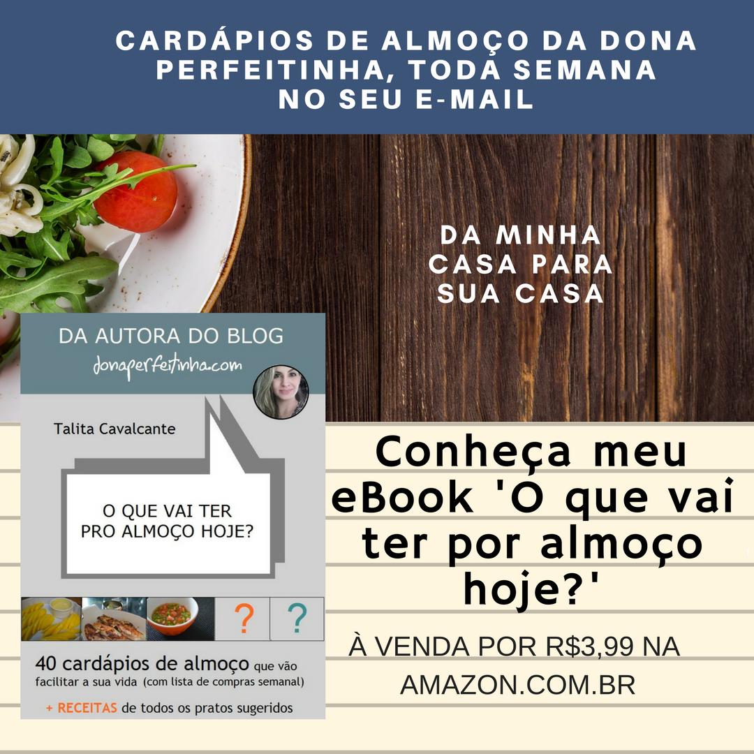 CARDÁPIOS POR E-MAIL