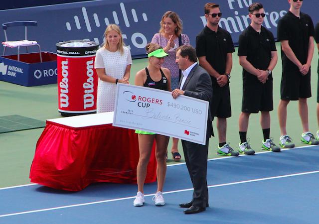 Belinda Bencic Rogers Cup Champion 2015