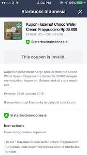 Starbucks Cuma 25ribu? SERBU !!