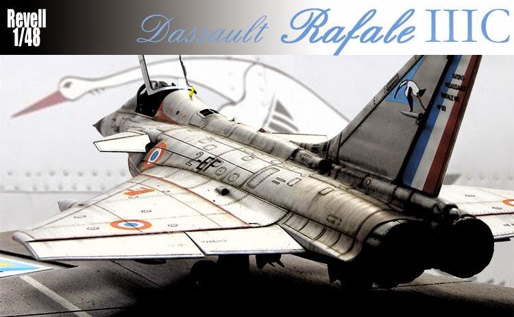 Avion Marcel Dassault Rafale IIIC