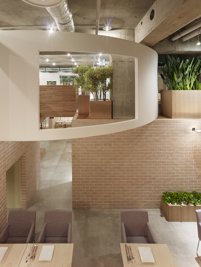 Void Elegant Interior : Ecomanta: Tokyo Interior Design - Green Restaurant