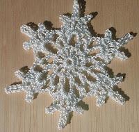 Crochet snowflake No. 4
