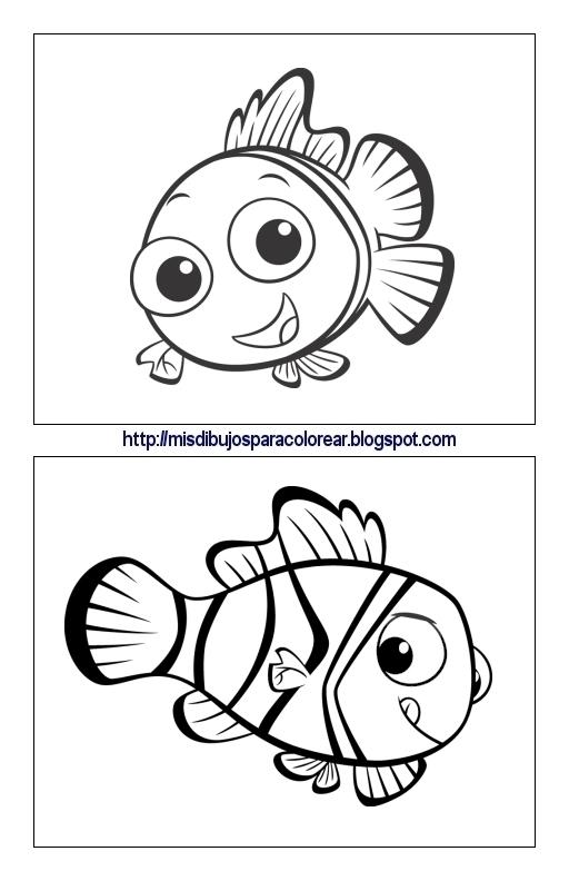 Dibujos de Nemo (5ª parte) : Mis dibujos para colorear