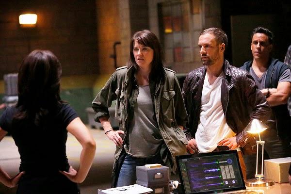 Lucy Lawles en Agentes de SHIELD 2x01 y 2x02