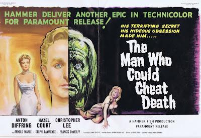 El hombre que podía engañar a la muerte (The Man Who Could Cheat Death - 1959)