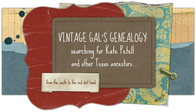 Vintage Gal&#39;s Genealogy