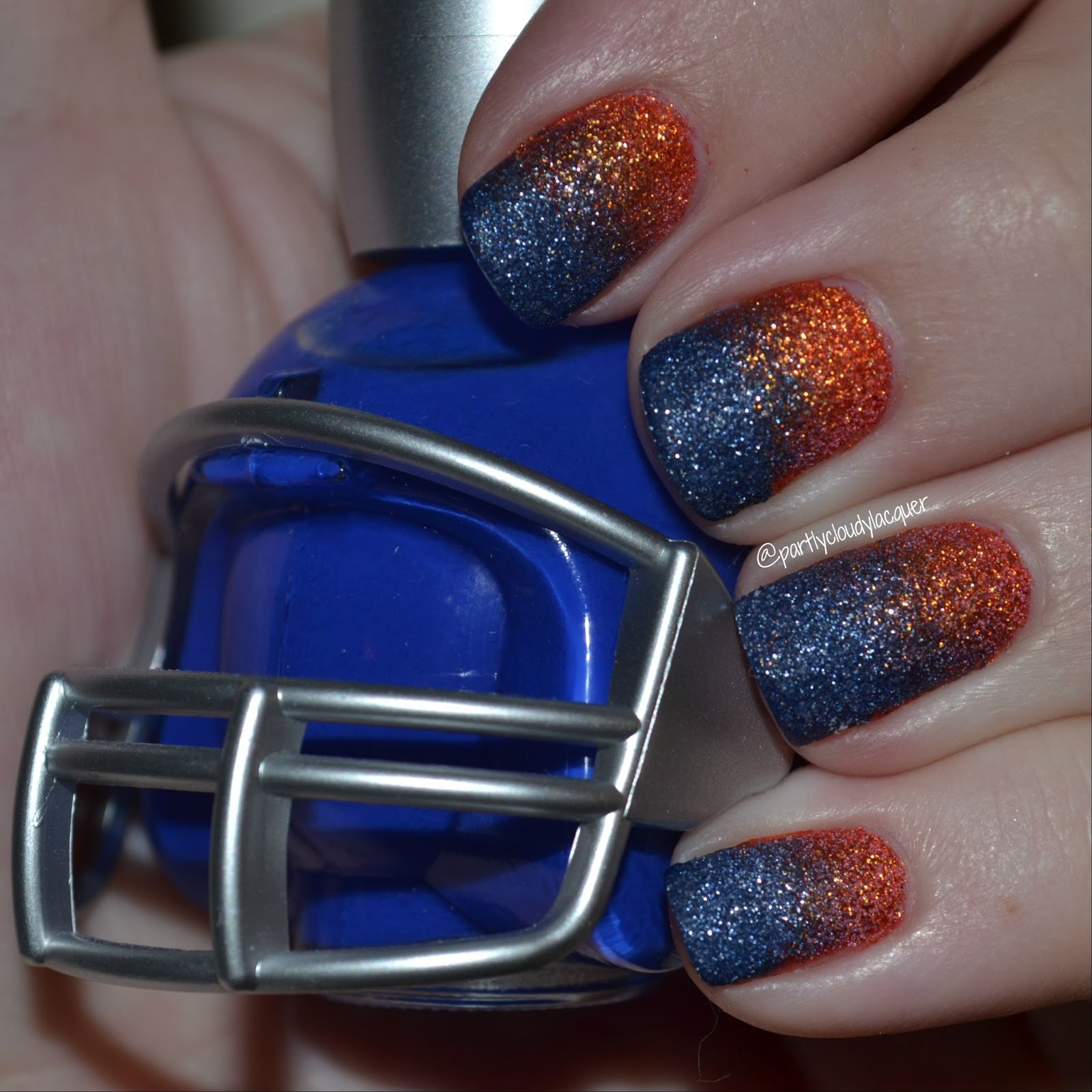 Florida Gator Nails 2015 Partly Cloudy With A Chance Of Lacquer