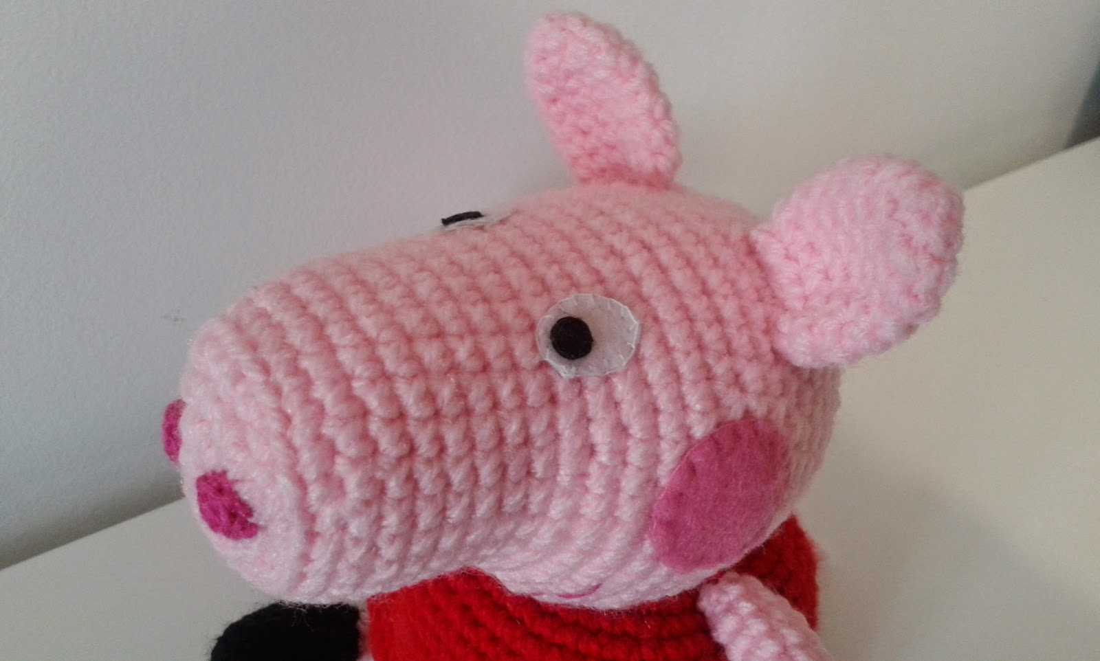 Gateando Crochet: Peppa Pig amigurumi