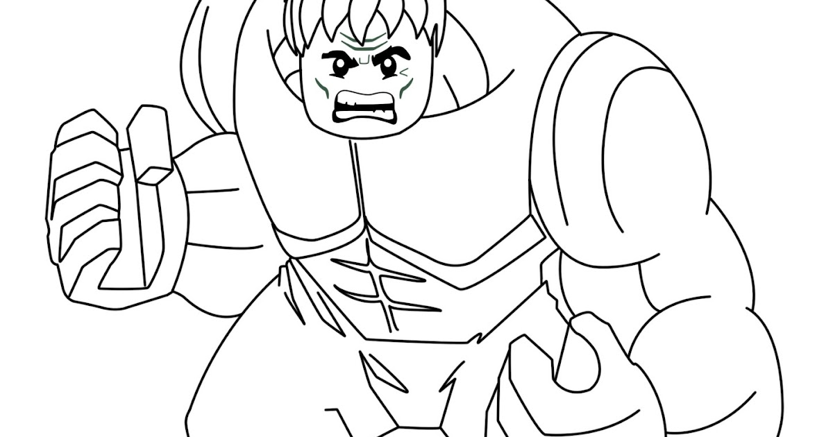 lego marvel heroes coloring pages - photo#15