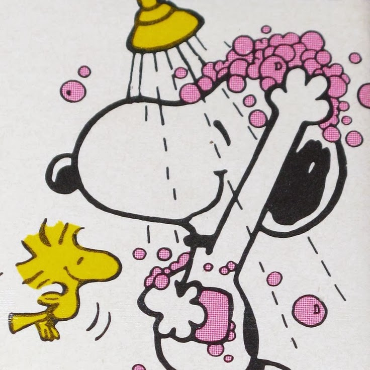 To Da Loos Snoopy Amp Woodstock In The Shower