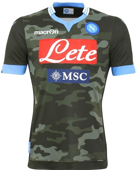 Macron apresenta novos uniformes do Napoli - Show de Camisas 83b4c4ea6b666