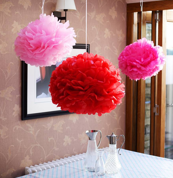 Ideas para decorar interiores con pompones decoraci n - Ideas hogar decoracion ...
