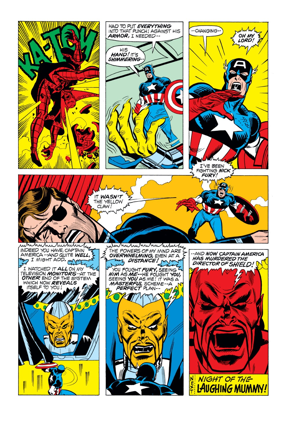 Captain America (1968) Issue #165 #79 - English 20