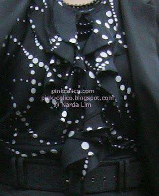 Pink Calico: Grey and Ruffles