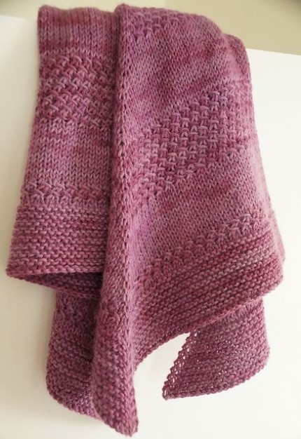 Textured shawl - Free Pattern