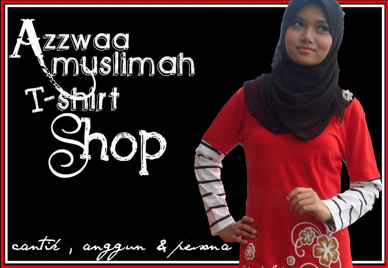 Azzwaa Muslimah T-Shirt Shop