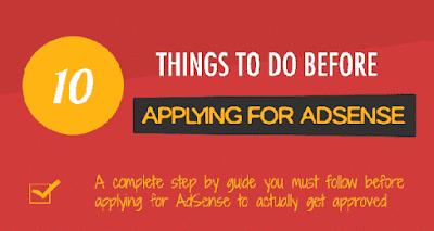 Google Adsense এ Apply করার আগে যে ১০ টি কাজ অবশ্যই করতে হবে