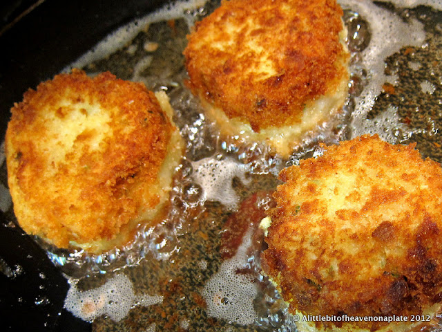 A little bit of heaven on a plate home made fishcakes for Old fashioned cod fish cakes