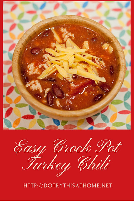 Slow cooker gluten free turkey chili