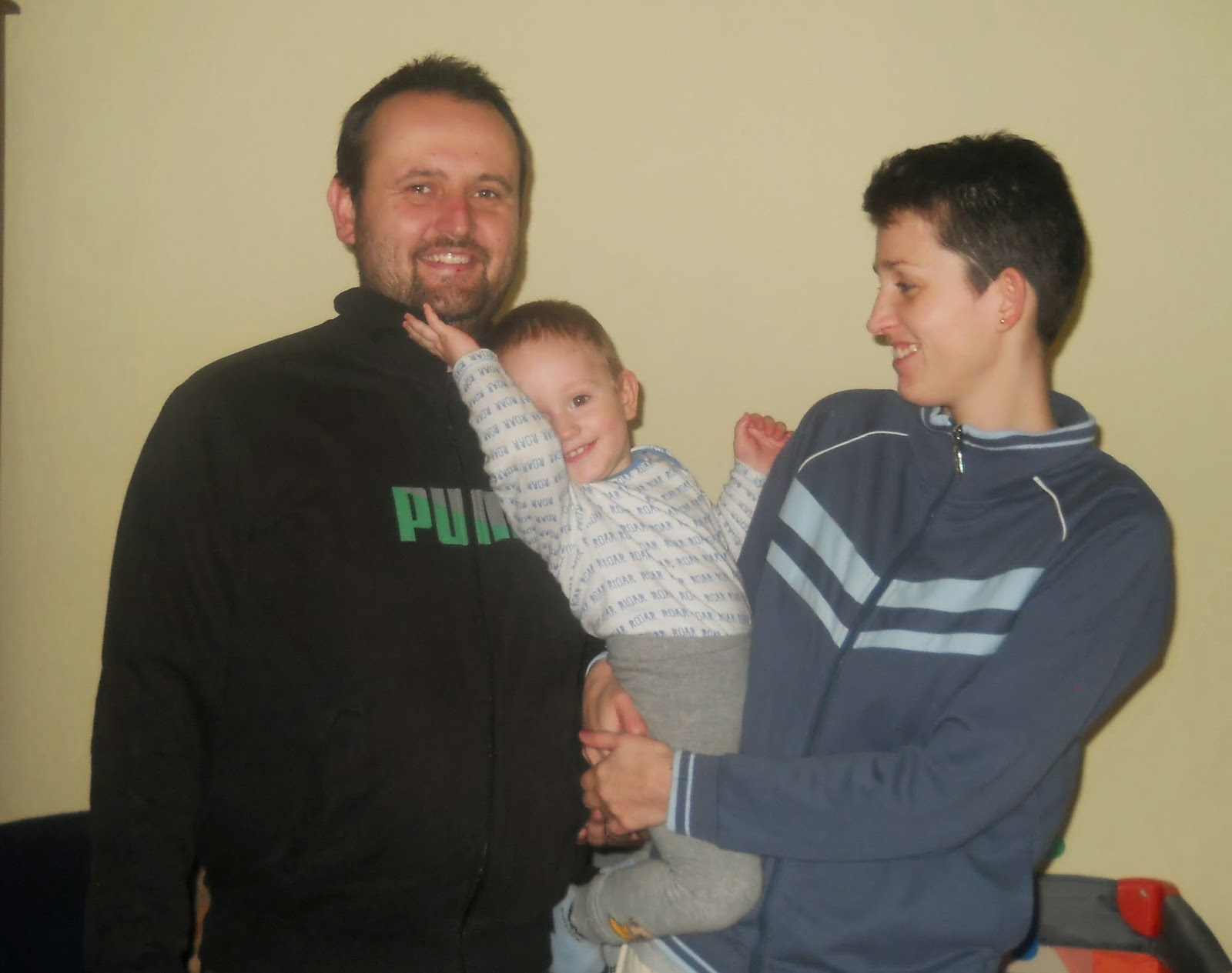 Ádi + mamma e papá