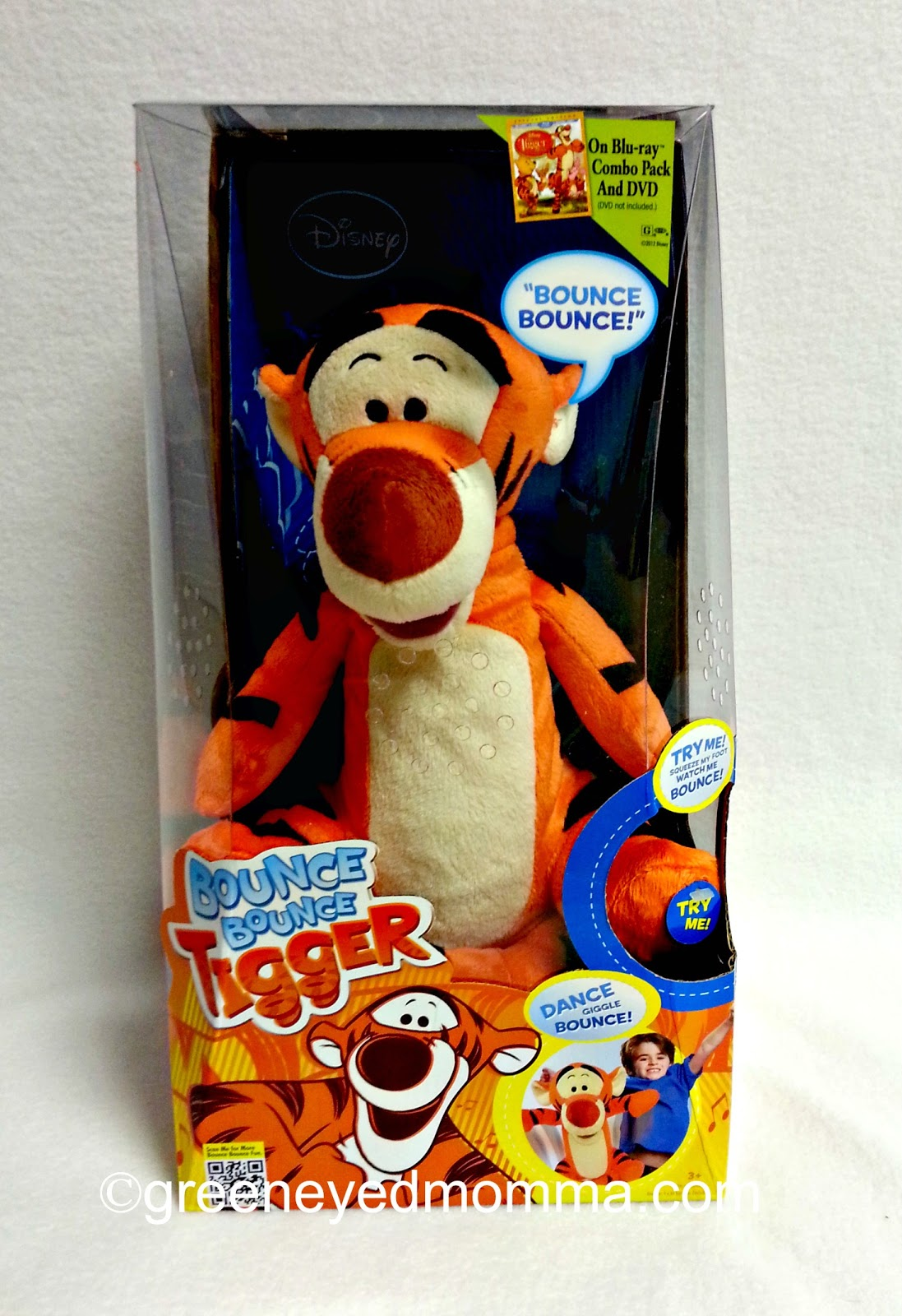 Bounce Bounce Tigger Bounce Bounce Tigger is Plush