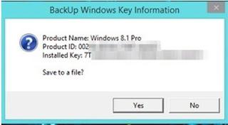 Cara Mencari Product Key Windows atau Office yang Hilang