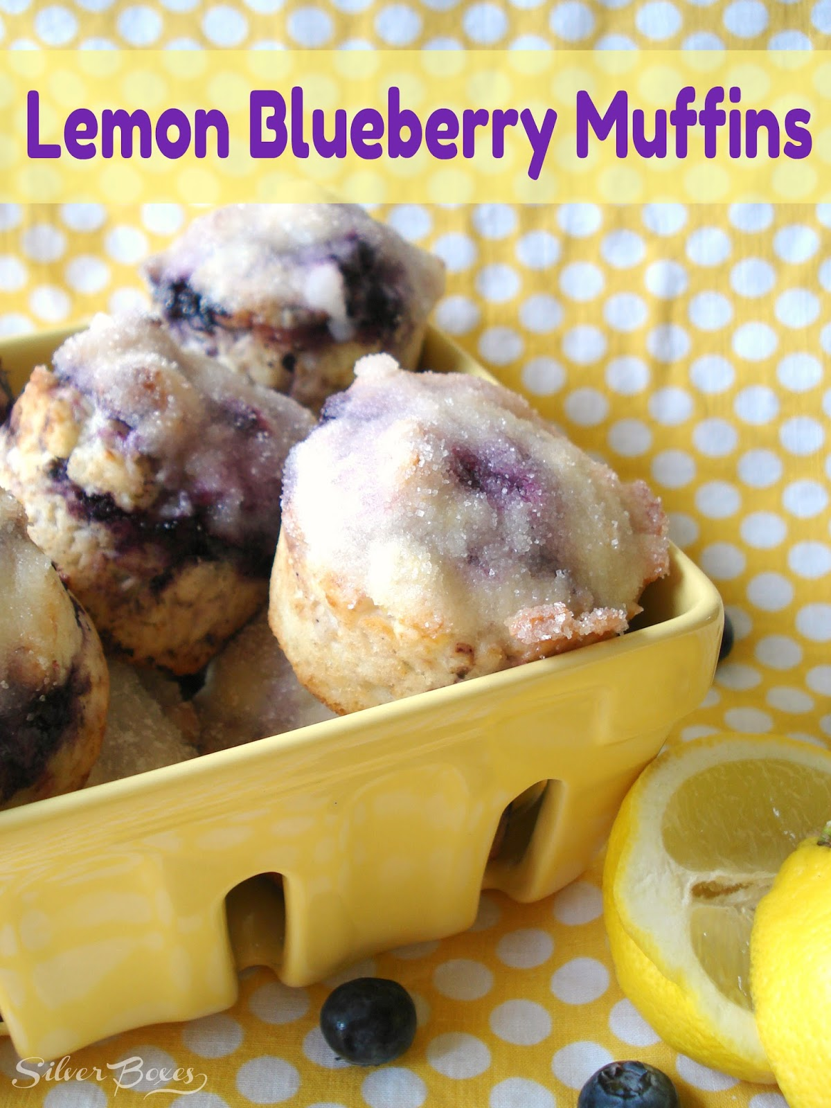 Lemon Blueberry Muffins with Lemon Butter Topping {Print Recipe ...