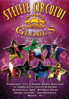 Turneu national organizat de artistii Circ & Variete Globus Bucuresti
