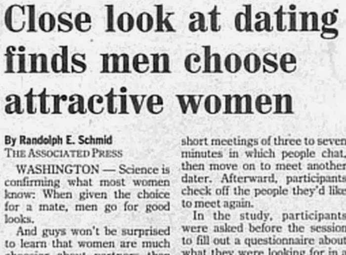 Dating articles