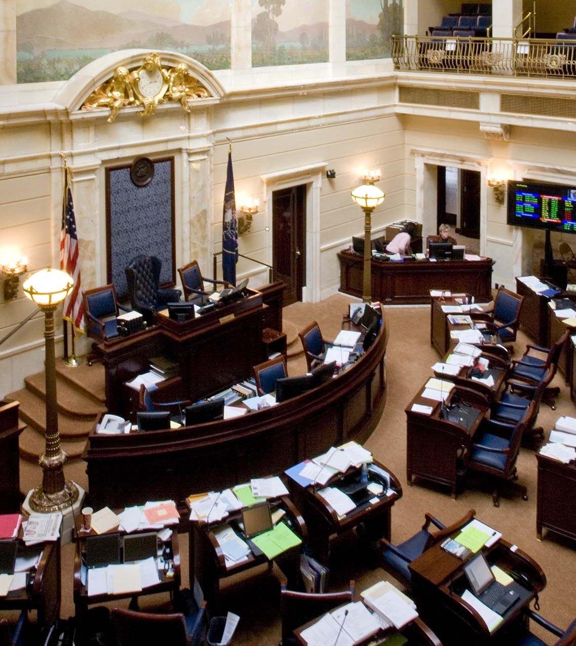 Utah Senate Chamber