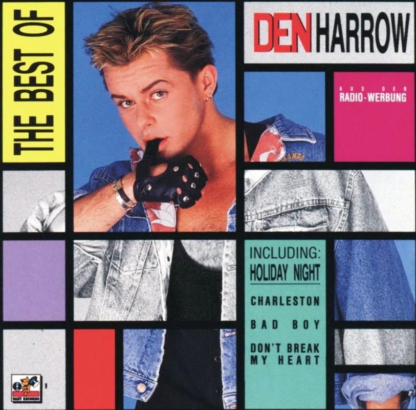 Den Harrow RETRO DISCO HINRG DEN HARROW Best Of Greatest Hits CD 1990