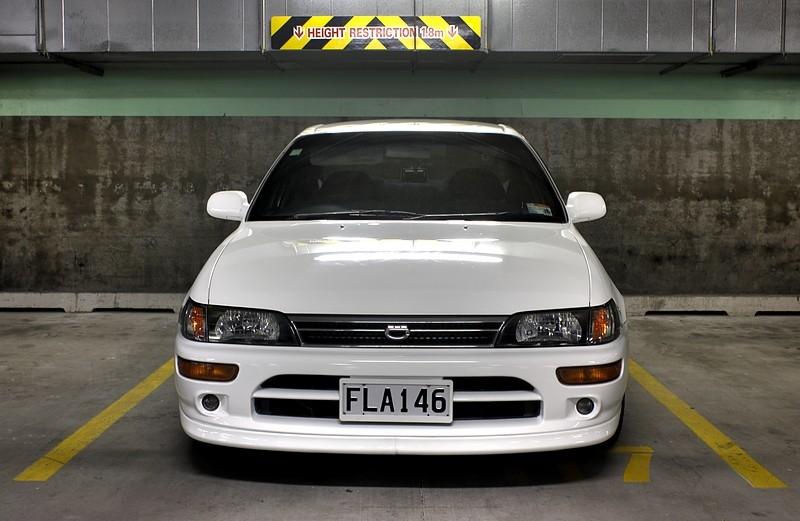 Modified Cars  Toyota Corolla 1993 Modified