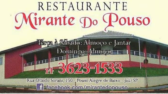 Restaurante Mirante do Pouso