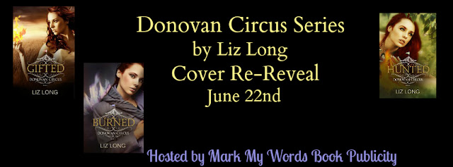 #CoverReveal: Donovan Circus Series by Liz Long