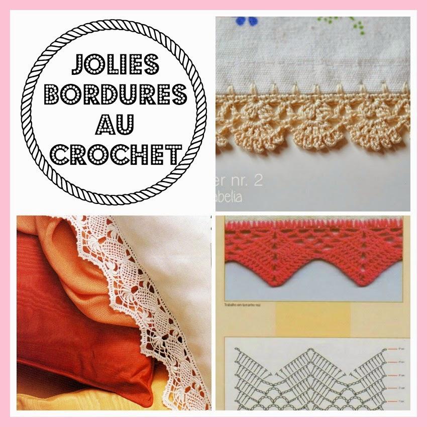 mes favoris tricot crochet 11 jolies bordures au crochet. Black Bedroom Furniture Sets. Home Design Ideas