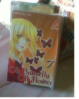 Komik Oh Butterfly oh Flower Bekas
