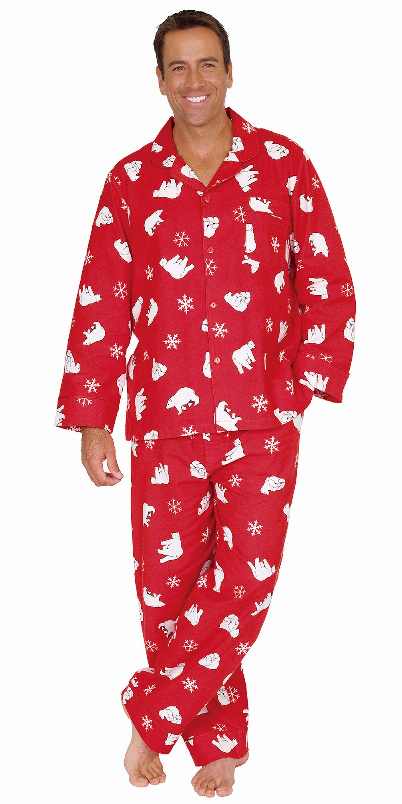 Santa Pajamas for Men ~ Complete Variety of Mens Wear
