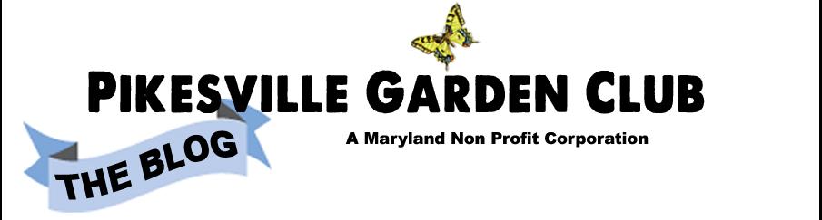 Pikesville Gardening BLOG