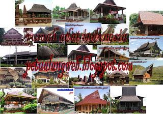 Keberagaman dan keunikan rumah adat di Indonesia yang terkenal di mata dunia